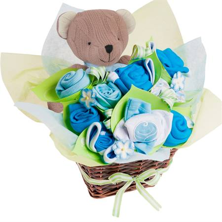 Blossoming Basket Blue